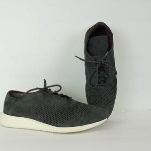 COLE HAAN Grand.OS Suede Sneakers